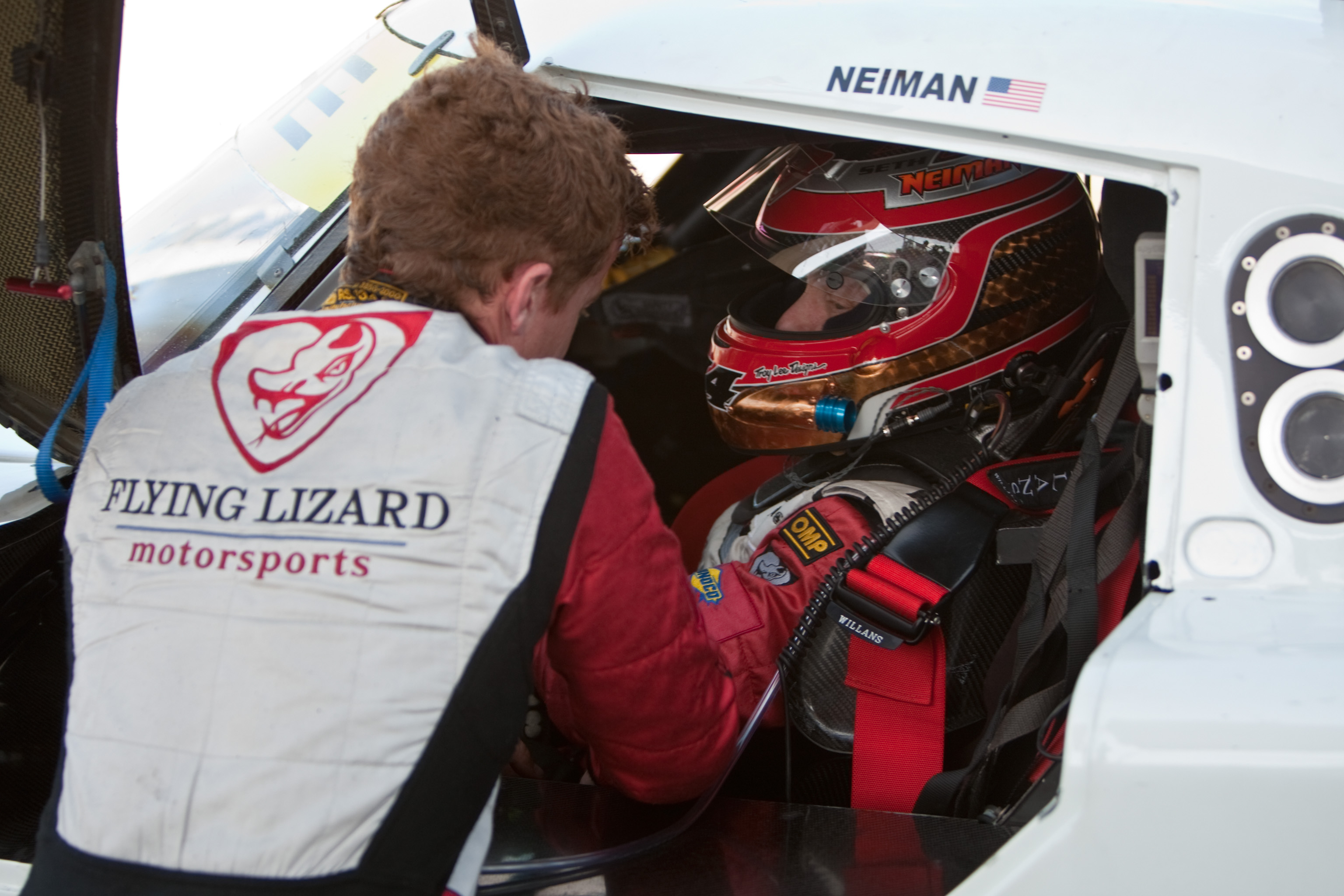 Flying Lizard Motorsports, Burtin Racing File Entries for Rolex 24