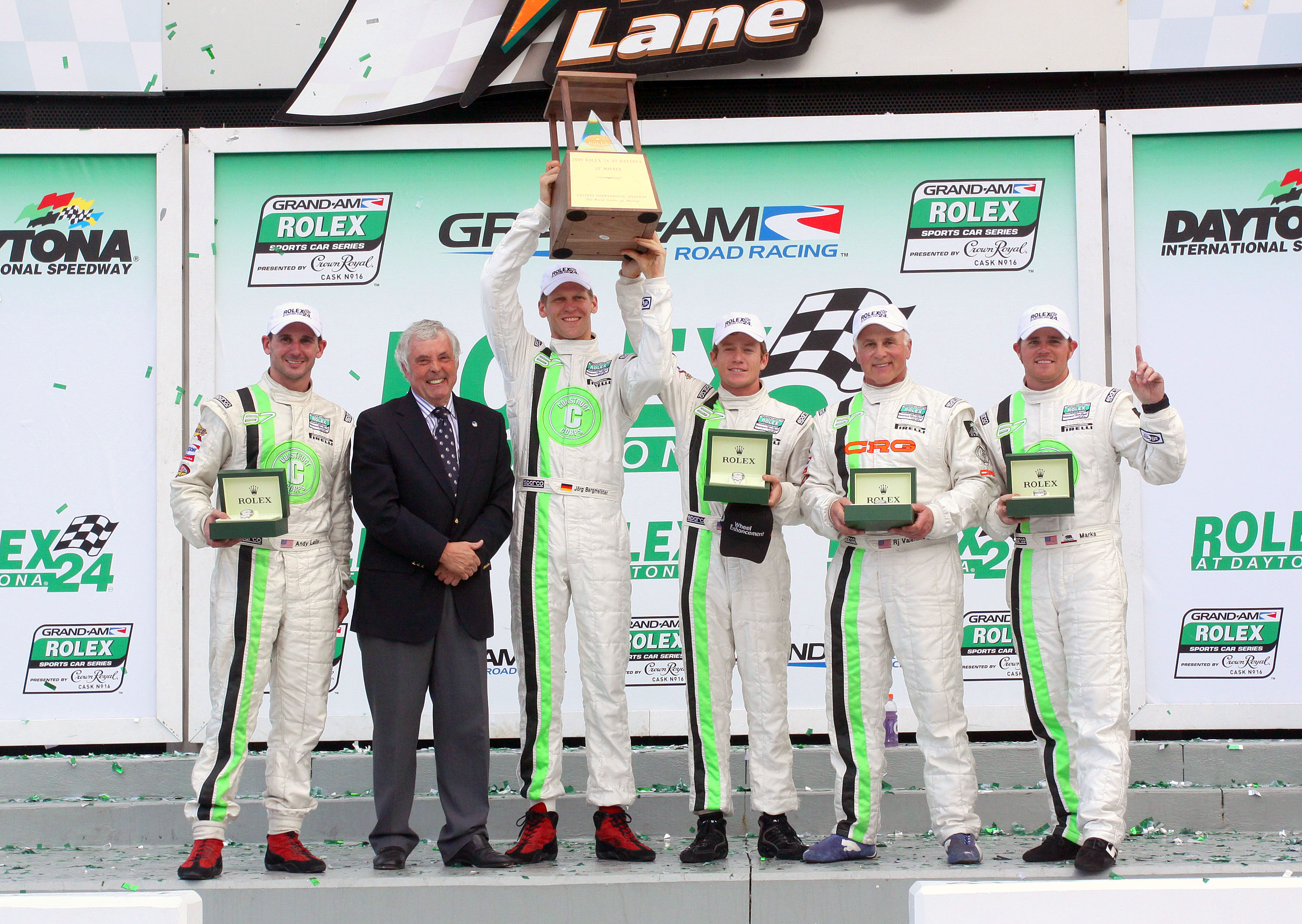 TRG Confident of Eighth Straight Rolex 24 Podium Finish