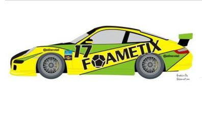FOAMETIX/Burtin Racing with Goldcrest Motorsports Announces Entry For Rolex 24, North American Endurance Championship